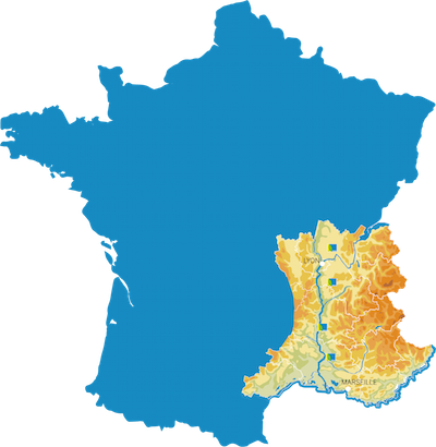 TOP Semence : Carte France